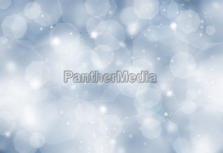 glittery blue background