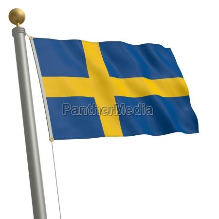 flagge von schweden