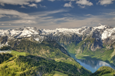 steinernes meer schoenfeldspitze grosser hundstod koenigssee