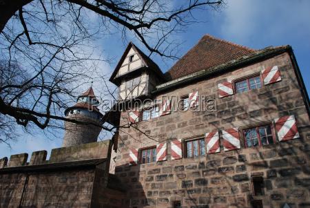 nuremberg castle kaiserburg heidenturm sinwellturm kunigunden