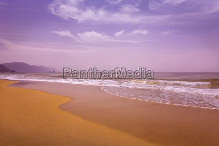 glyfada beach auf der insel korfu