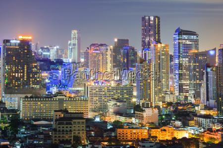 bangkok skyline der innenstadt