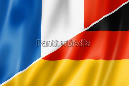 frankreich und deutschland flag