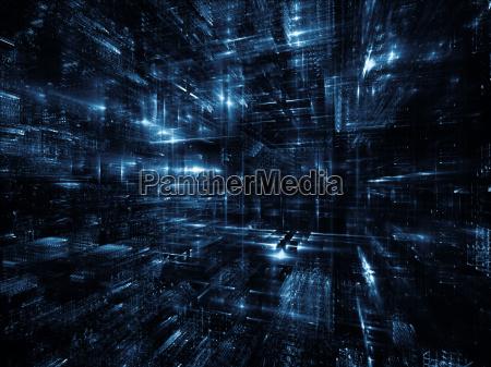 fractal world background