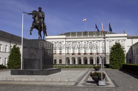 polish presidential palace