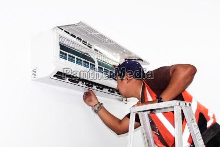 aria condizionata di riparazione