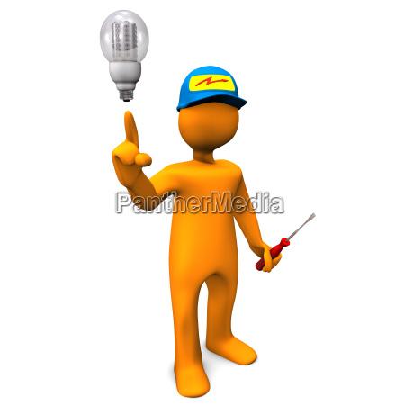 elektriker, led - 9443366