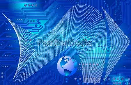 network conectivity vector