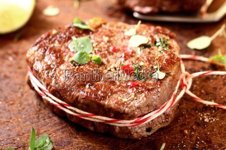 thick saftig gegrillte mageres rindfleisch steak