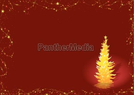 gold weihnachtsbaum