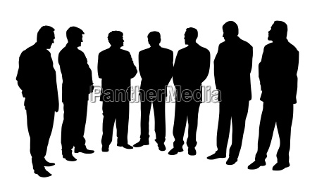 group of business people vector eps