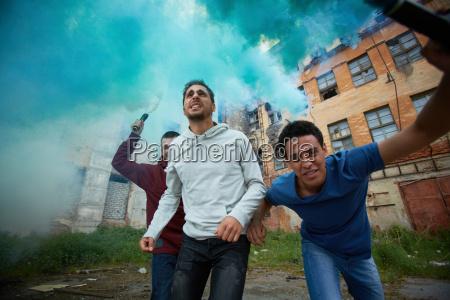 boeswillige hooligans