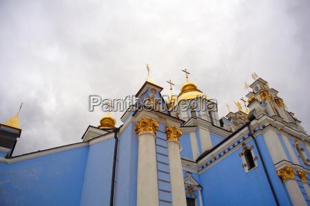 st michaels kathedrale in kiew ukraine