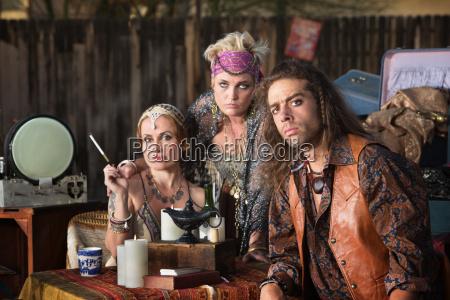 trio of fortune tellers
