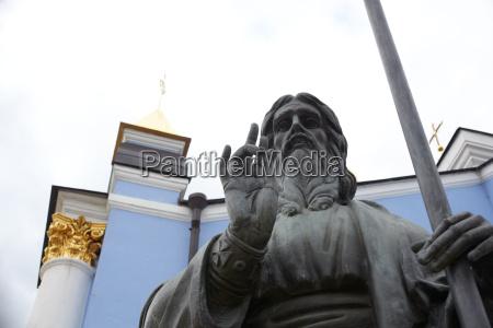 jesus christ statue kiev