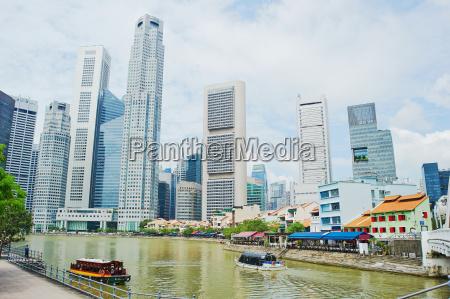 riverside of singapore