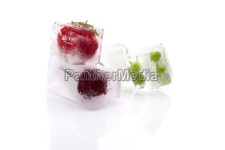 gefrorenes obst und gemuese