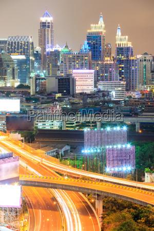 bangkok innenstadt autobahn