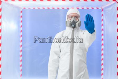 biohazard spezialist endgeste