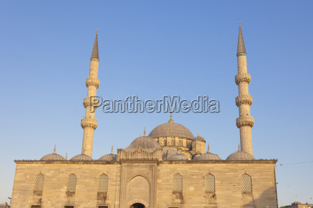 new mosque yeni cami in istanbul