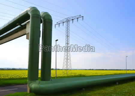 energy supply a city