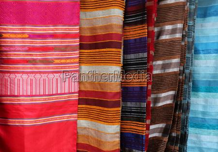 traditionelle marokkanische textilien