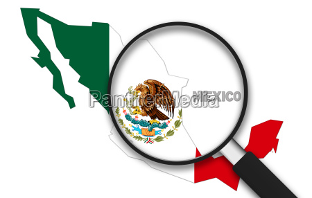 vergroessern glas mexiko