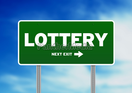 lottery verkehrsschild