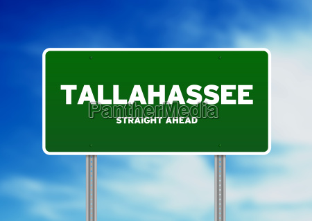tallahassee florida highway sign