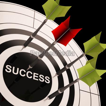 erfolgreich ziel fortschritt loesung zielen beste