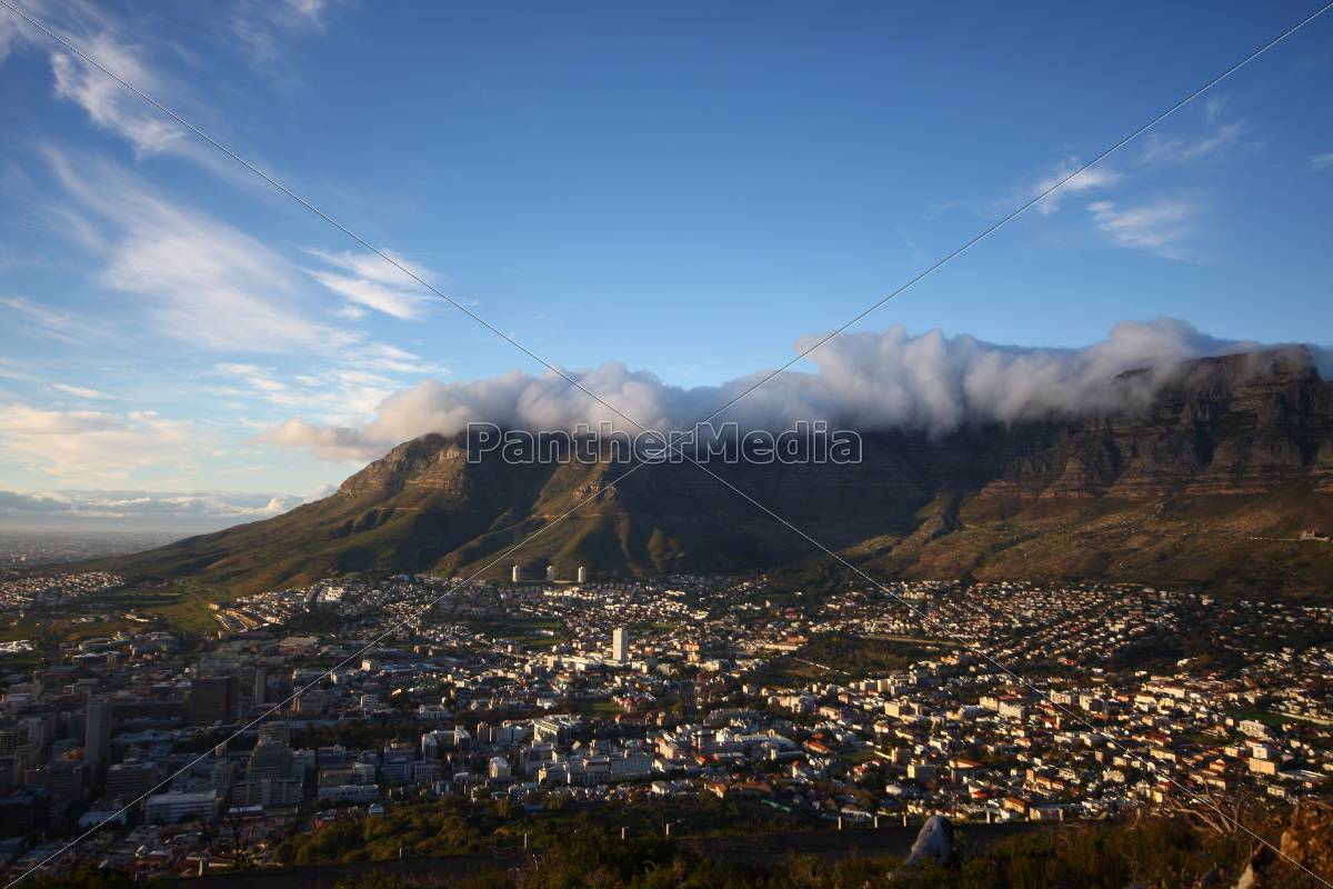 Tafelberg, Kapstadt, Südafrika, Landschaft, Aussicht, Panorama - 9638952