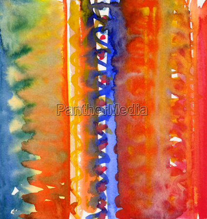 stripes watercolor abstract pattern