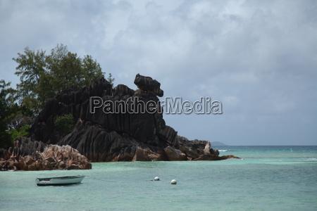 La Digue, Lagune, Riff, Sand, Seychellen, Strand - 9680846