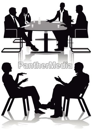 besprechung und beratung