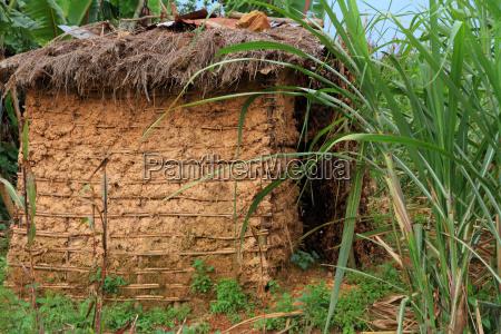 mud hut home