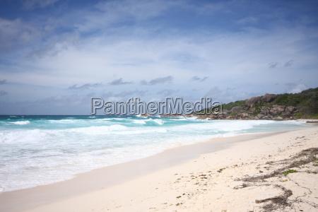 La Digue, Lagune, Meer, Riff, Seychellen, tropisch - 9708334