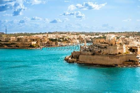 grand harbour valletta hauptstadt von malta