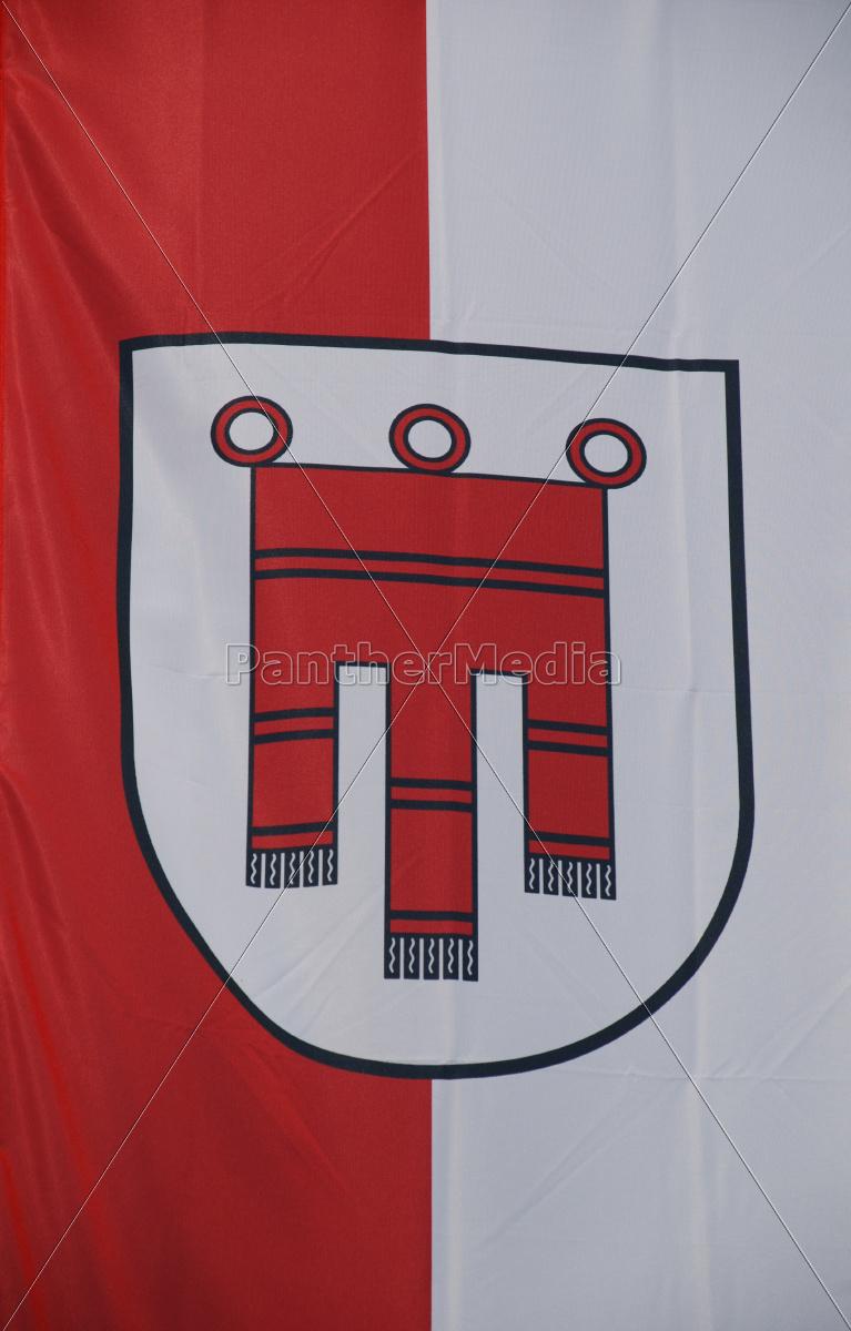 , vorarlberg, flagge, banner, wappen, landesflagge - 9730536