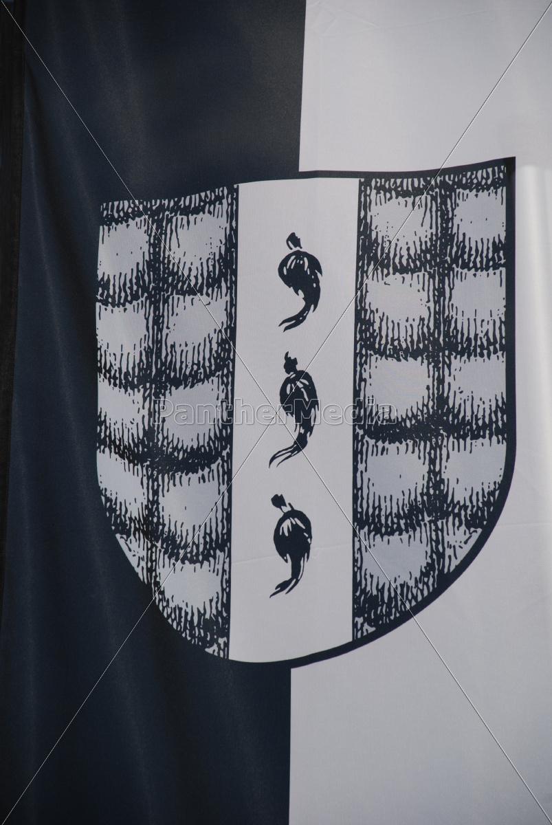 bregenz, fahne, flagge, banner, stadtwappen, vorarlberg - 9730538