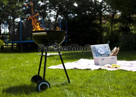 picknick grillzeit grill