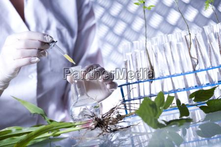 biotechnologie chemische laborglaeser