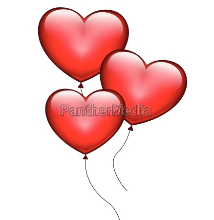 herz ballone