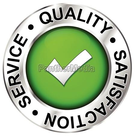 qualitaet die zufriedenheit service