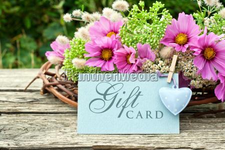 gift card gift certificate voucher wedding