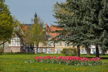 welterbestadt quedlinburg fachwerkfassen im stadtkern