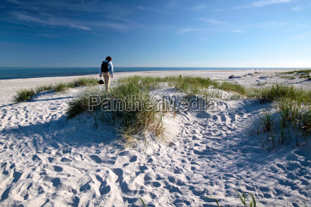 weisser sandstrand auf bornholm
