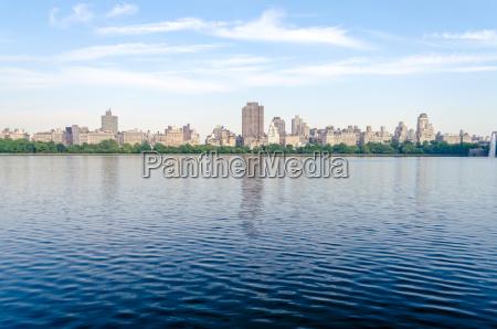reservoir im central park new york