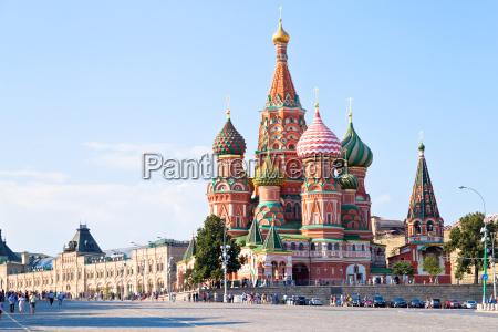 red square mit vasilevsky abstieg in