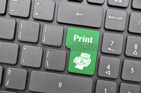 print on keyboard