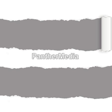 page, rip, -, gerissenes, papier - 9897536
